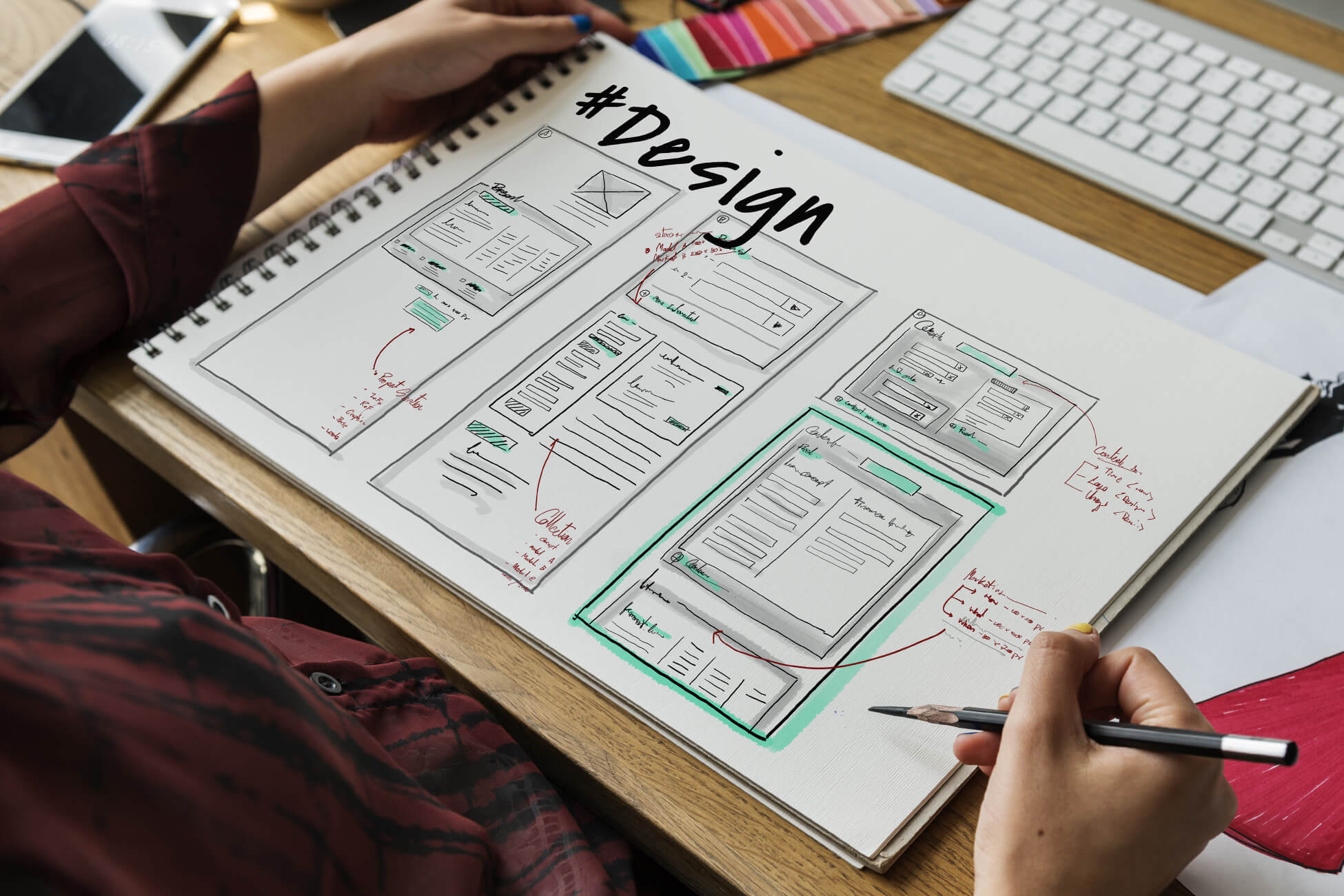 Custom website design services by Duel Marketing offer mobile friendly custom web presence for large and small businesses to enhance their brand, products and services.